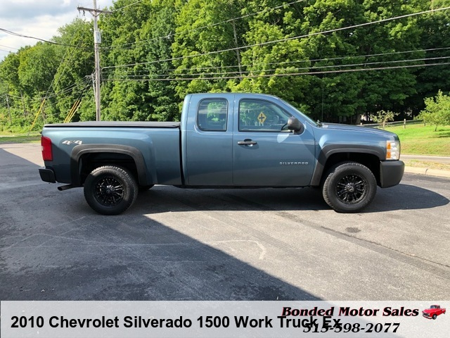 2010 Chevrolet Silverado 1500 Work Truck Ext. Cab Long Box